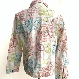 CHICOS embroidered jacket